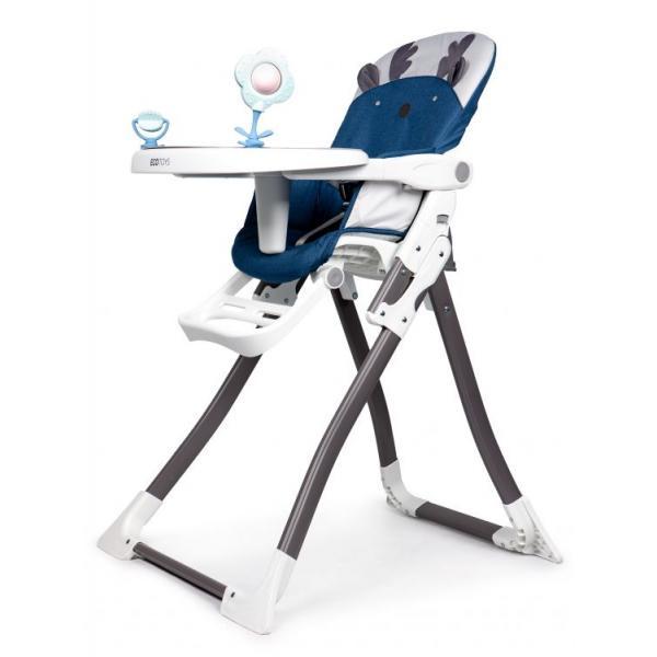 Maitinimo kėdutė Renifer Ecotoys Blue